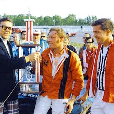 Bob Senneker @ Toledo (OH) Speedway 1970 Glass City 200