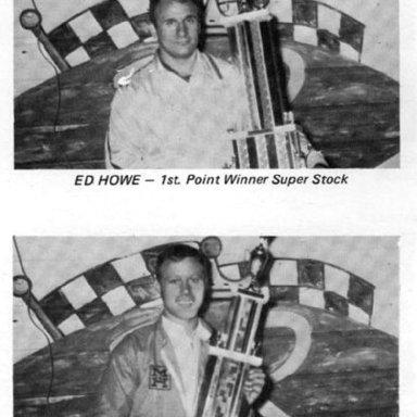 Ed Howe & Bob Senneker @ Berlin (MI) Raceway 1970