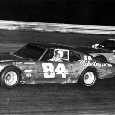 #84 Bob Senneker & #12 Larry Moore @ Queen City (OH) Speedway 1972