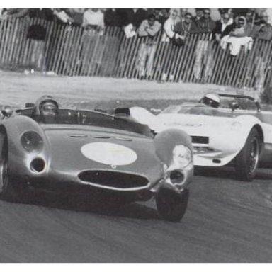 1963 Monterey Pacific Grand Prix - Dave MacDonald at Laguna Seca