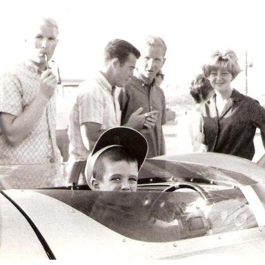 King Cobra at 1963 LA Times GP - Little Richie MacDonald