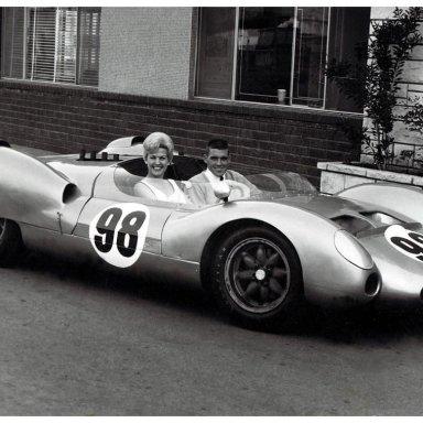 1963 King Cobra - Dave MacDonald & 1960's Trophy Queen Marilyn Fox