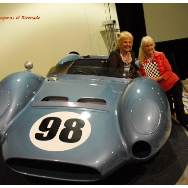 Shelby King Cobra - 1960's Trophy Queen Marilyn Fox & Sherry MacDonald
