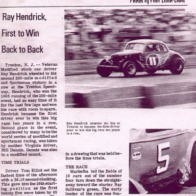 Ray Hendrick-Roy Hendrick Collection-Given to Andy Towler Thanks Roy-To Be put on no other Sites....