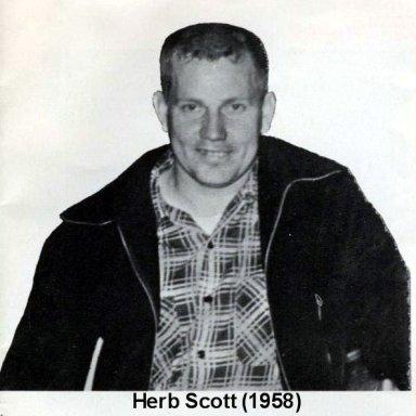 Herb Scott 1958 PRA Season