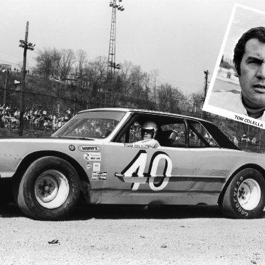 #40 Tom Colella at Heidelberg (PA) Raceway March 1971