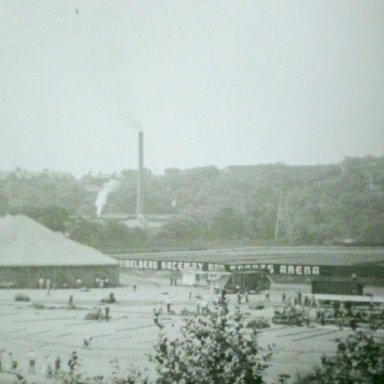 Circus Goes Up @ Heidelberg (PA) Raceway 1948