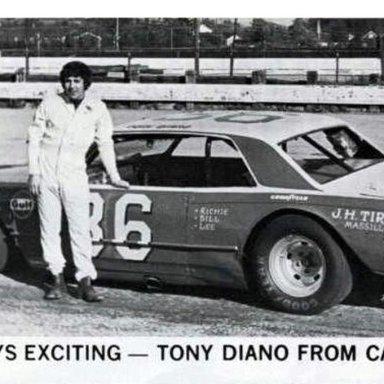 #36 Tony Diano at Heidelberg (PA) Raceway 1973