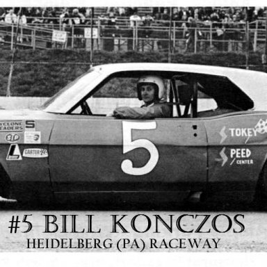 #5 Bill Konczos @ Heidelberg (PA) Raceway 1971