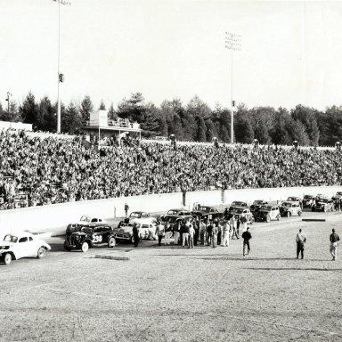 Bowman Gray Stadium - Tobacco Bowl 1957