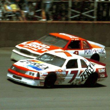 #7 Alan Kulwicki 1988 Miller High life 400 @ Michigan