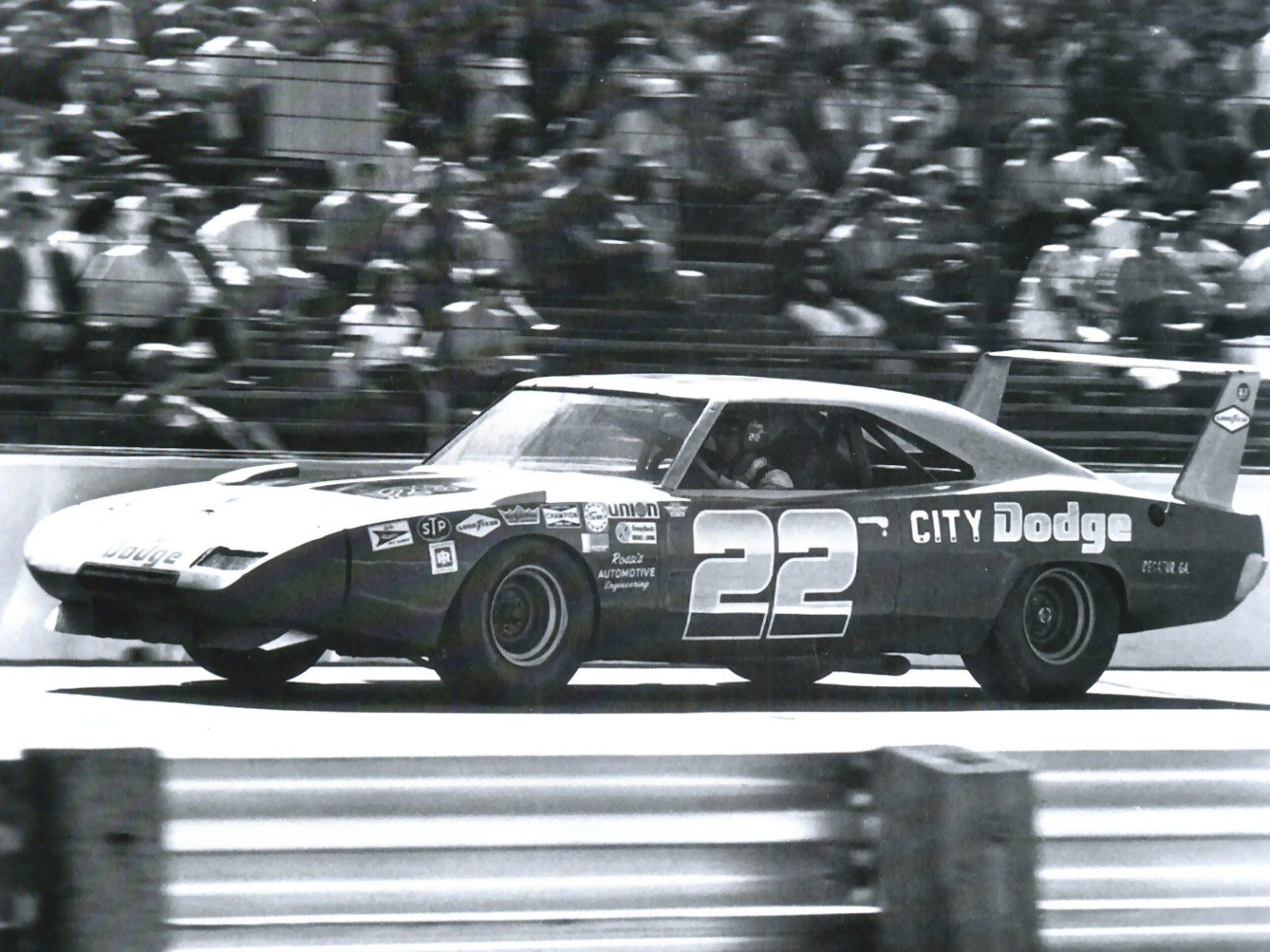 1969 Dodge Charger Daytona Nascar Race Car Bobby Allison S Car Fsv