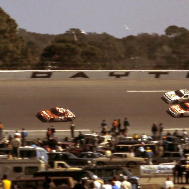 #25 Ken Schrader #11 Terry Labonte #28 Davey Allison 1989 Bush Clash