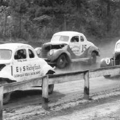 1947 Fonty Flock - Langhorne Speedway in Pa.