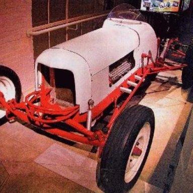 1950 WHITBECK CAR DRIVEN BY PETE