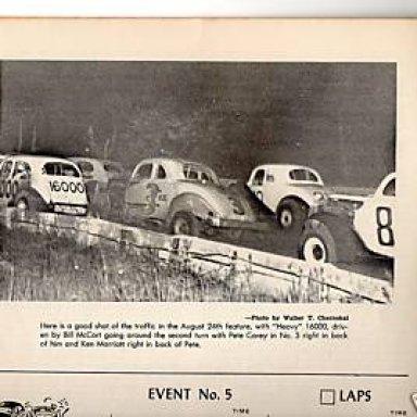 1956 PETE COREY AT ALCYON