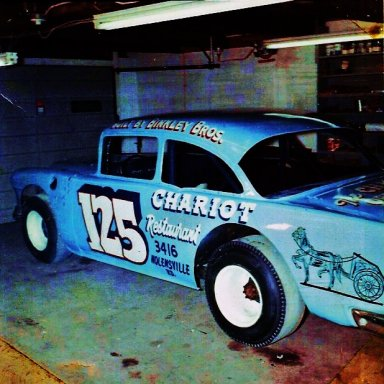 1965...CHARLIE BINKLEY'S LATE MODEL MODIFIED..HELD 5 TRACK RECORDS IN THE SOUTHEAST