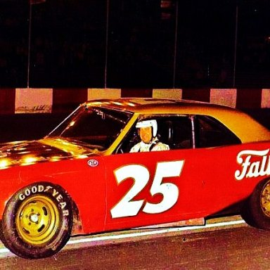 1974...CHARLIE BINKLEY'S FALL CITY SPECIAL CHEVELLE...HE & WALTRIP WERE TEAMMATES IN 73/74