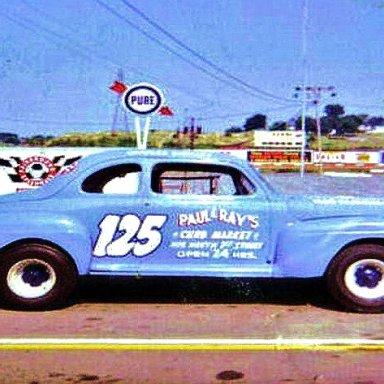 CHARLIE BINKLEY'S HOBBY STOCK CAR.......TRACK CHAMPION 1961& 62 NASHVILLE FAIRGROUNDS 1/4