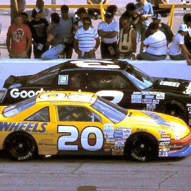 #20 Brett Hearn #3 Dale Earnhardt 1989 Speed Weeks @ Daytona