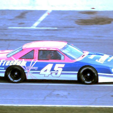 #45 Patty Moise 1989 Speed Weeks @ Daytona