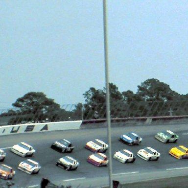 #25 Ken Schrader #9 Jody Ridley 1989 1st Twin 125 Qualifying Race @ Daytona