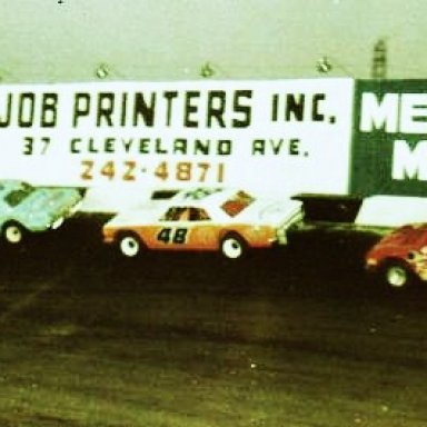 1968 Nashville Fairgrounds,#24 B.Walker.#125 C.Binkley..#47 PB.Crowell..#711 Coo-Coo Marlin
