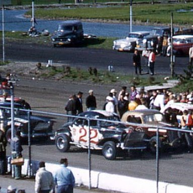 pete starts 3rd at cuse 1957