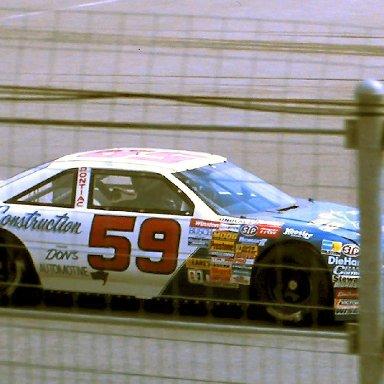 #59 Mark Gibson 1989 1st Twin 125 Qualifying Race @ Daytona