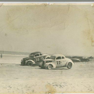 Zervakis #38 at Daytona Beach 1953