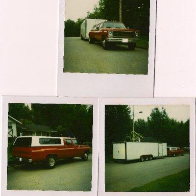 Lawrence Racing MASCAR hauler 1995