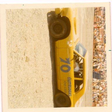 Atlantic Speedway mid 70's - intruders car club ex jr hanley car - skip mackenzie driving