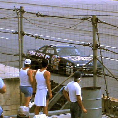 #6 Mark Martin 1989 1st Twin 125 Qualifying Race @ Daytona