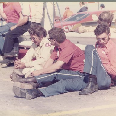 Hutchins Butch Zervakis taking a break at Charlotte