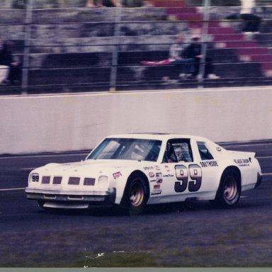 Zervakis Speedway Sportsman car , Bodine driving