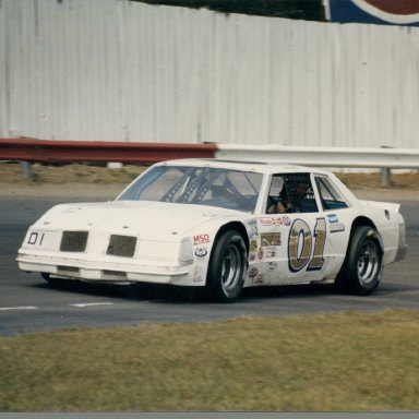Zervakis 01 entry, with Lindley smoking em at the Richmond Fairgrounds