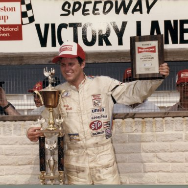 Ricky Rudds first Nascar win driving for Emanuel Zervakis at Dover Downs