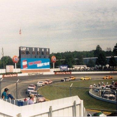1991 Goody's 500 - Dale Earnhardt(3) in Turn 3