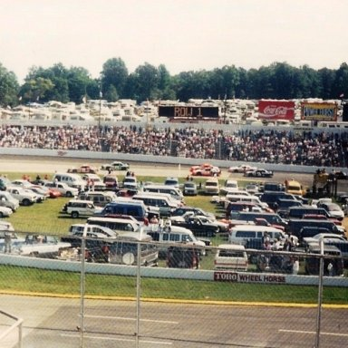 1991 Goody's 500 Pace Lap