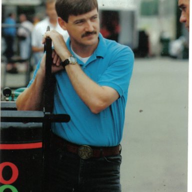 Davey Allison @ Michigan 1991  hangin` out