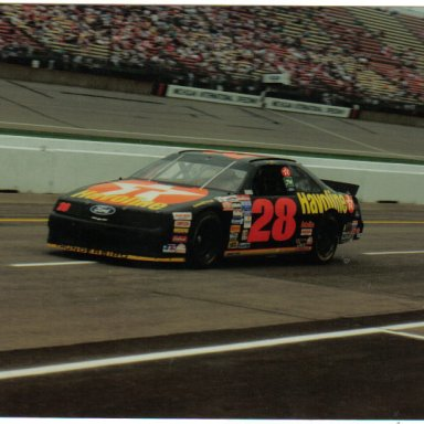 Davey Allison @ Michigan  1991  pit road