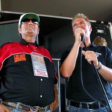 Lee Roy Mercer & Clint Bowyer