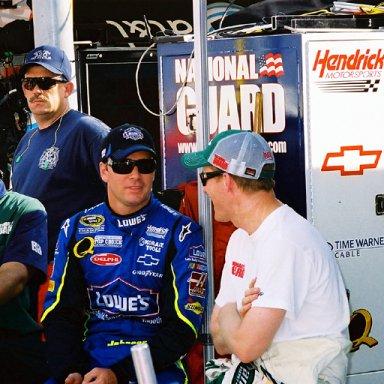 Jimmie Johnson & Dale Earnhardt, Jr.