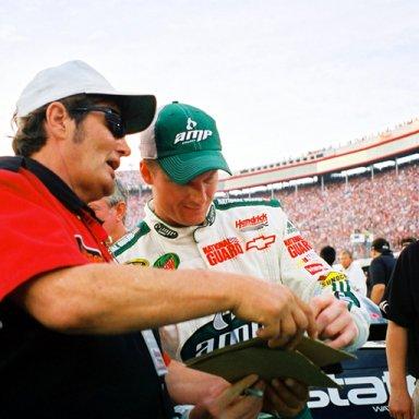 Lee Roy Mercer & Dale Earnhardt, Jr.