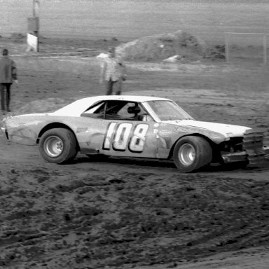 Car # 108 - Driver Unknown