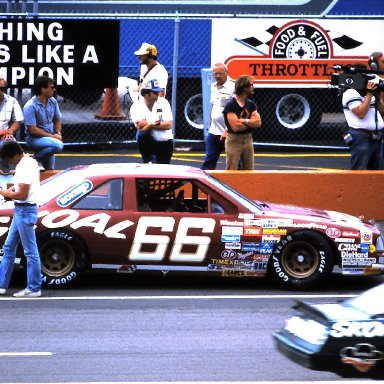 #66 Phil Parsons 1986 Miller American 400 @ Michigan