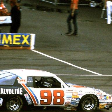 #98 Ron Bouchard 1986 Miller American 400 @ Michigan