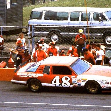 #48 James Hylton 1986 Miller American 400 @ Michigan