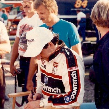 Dale at Berlin (Michigan) Raceway ASA