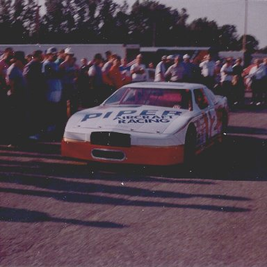 Bobby Allison's ASA Buick with Dale Earnhardt at the wheel.